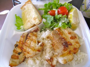 Grilled fish/ Nommo