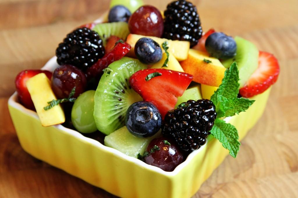Fresh fruit salad/ Source: SouthernBite.com