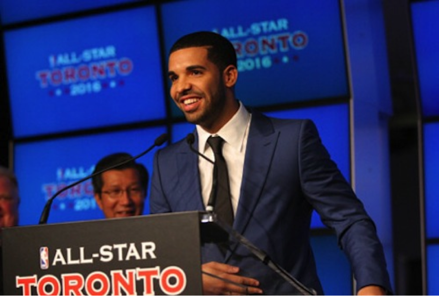 Drake Talks to the Toronto Raptors